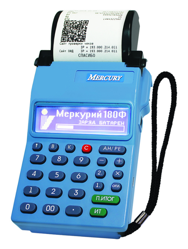 автономная касса  Меркурий-180Ф