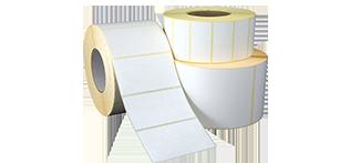 Термоэтикетки 58х60х400 чистые ЭКО