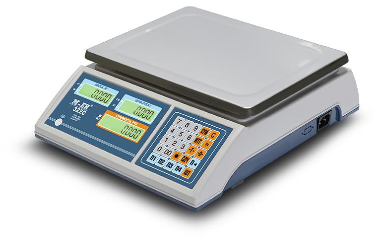 Торговые Настольные - M-ER 322AC LED/LCD