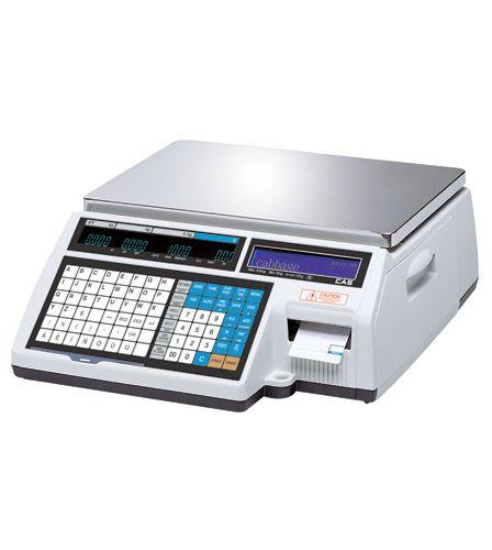 CAS CL5000-B с печатью этикеток
