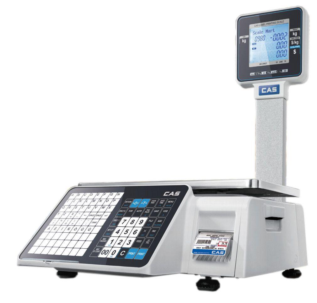 Торговые с печатью этикеток CAS CL3000J-P